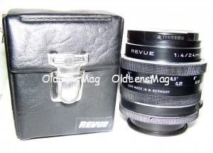Revue 24/4 macro, Germany, М42 или Nikon с бесконечностью