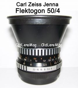 Carl Zeiss Jenna Flektogon 50/4