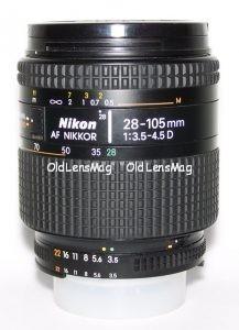 Nikon AF Nikkor 28-105/3.5-4.5 D