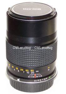 Konica Hexanon 135/3.5 под Canon EOS с беск.