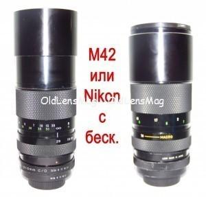 Tokina RMC 70-210/3.5 Macro, М42 (и на любую систему), Бест-Бокэ