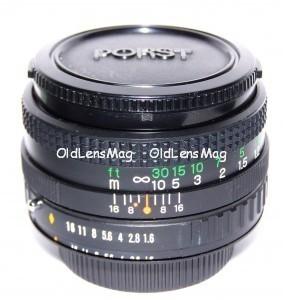 Porst 50/1.6 UMC, МДФ-40см для Canon, Sony, Pentax, M42