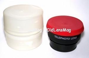Телеконвертер TelePhoto Lens 46 мм (особенно хорош для беззеркалки), Japan