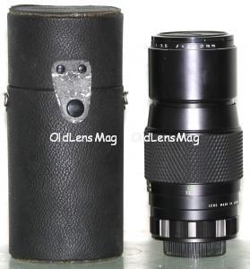 Mamiya Sekor SX 200/3.5, M42 + адаптер