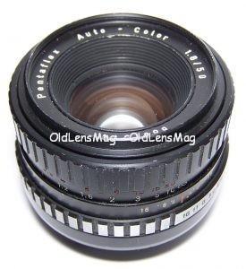 Pentaflex Auto-Color (Oreston) 50/1.8, М42